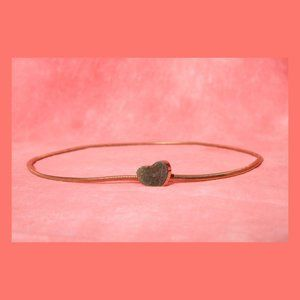 Heart Gold Tone Belt